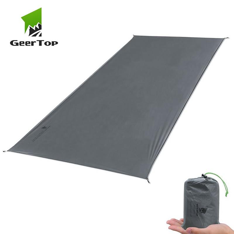 GeerTop ltralight Camping Mat Waterproof Tent Tarp Sun Shelt