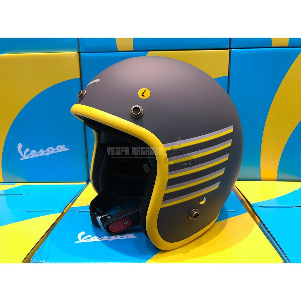 【VESPA RAGAZZO】Vespa Graphic 原廠系列安全帽 消光黑款