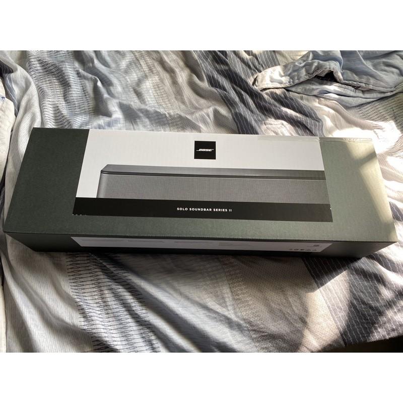 Bose Solo Soundbar 電視音響 II