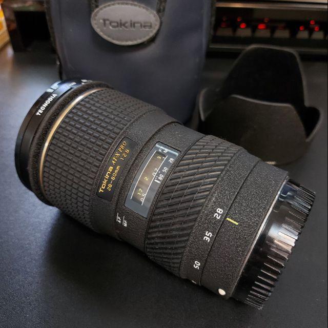 Tokina AT-X 28-80mm AFPROf/2.8 相機鏡頭 canon適用