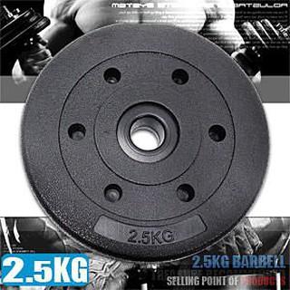 2.5KG水泥槓片C113-B2025單片2.5公斤槓片.啞鈴片.槓鈴片.舉重量訓練.健身器材.推薦 新竹縣