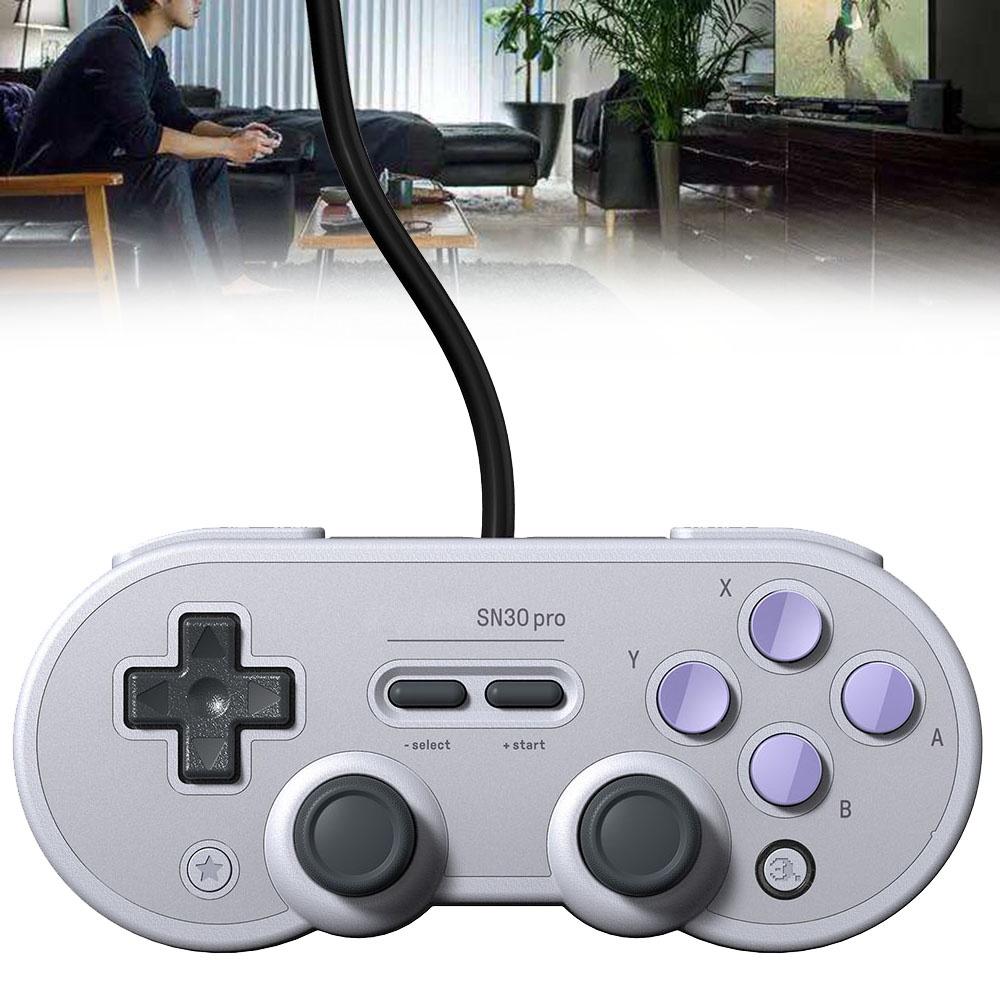 带/操纵杆的Pro游戏手柄8Bitdo USB有线手柄,用于NS开关主机/PC ☆goodxpmall