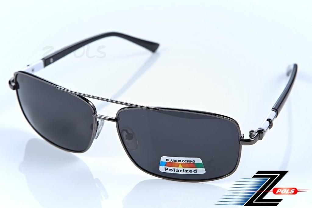 【Z-POLS專業金屬偏光款】金屬銀質感舒適框體,頂級舒適新設計寶麗來偏光眼鏡!新上市!