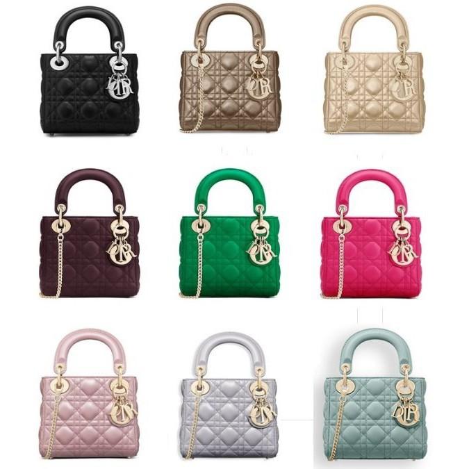 正版 Dior 經典小包 Mini sac Lady