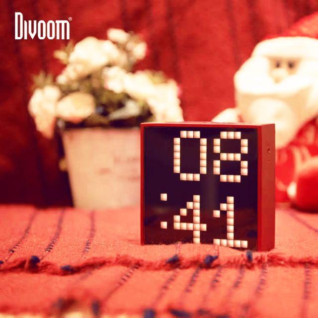Divoom小方塊/點音TIMEBOX-EVO點數智慧智能藍牙音箱鬧鐘時間生日禮物小音響歌詞科技定制情人節