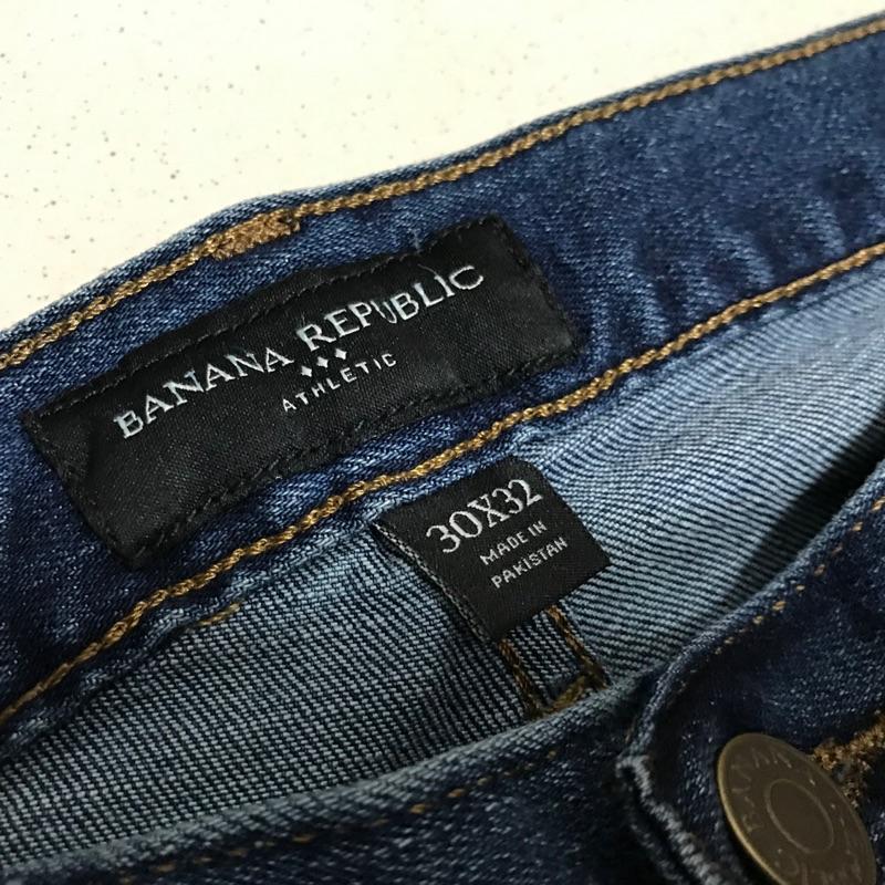 Banana republic 30x32 全新牛仔褲