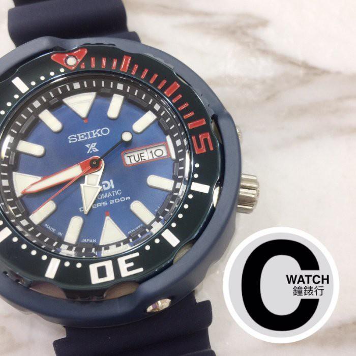 實體店附發票|SEIKO 精工 (SRPA83J1) 4R36-05V0B PADI聯名潛水 機械錶