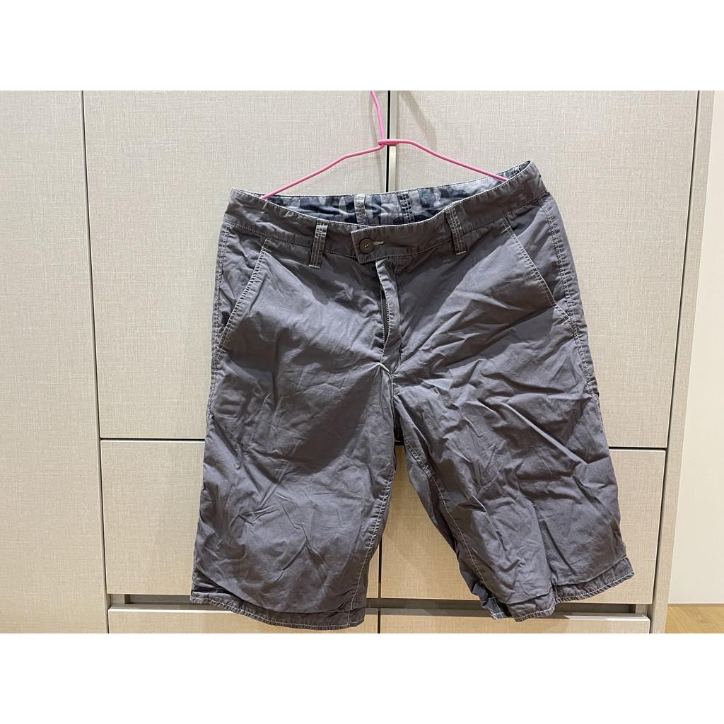 Big Train 短褲 / 男生短褲 / 休閒褲 / 雙面穿 / 黑色