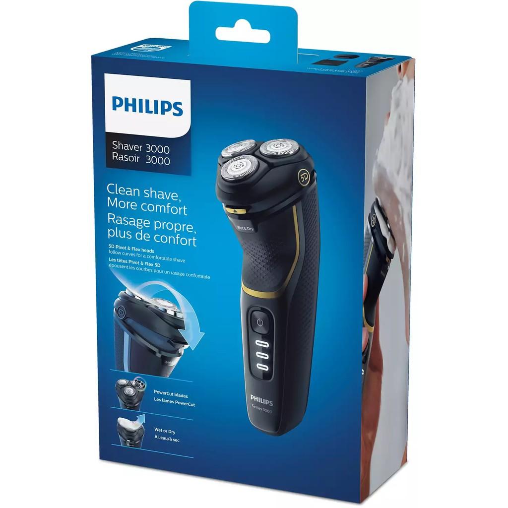 ❤️百百的窩❤️ 現貨Philips飛利浦全水洗電動刮鬍刀 Shaver Series 3000 S3333/54