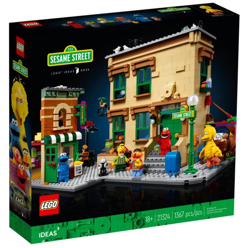 全新現貨 樂高 21324 123芝麻街 LEGO IDEAS 123 Sesame Street