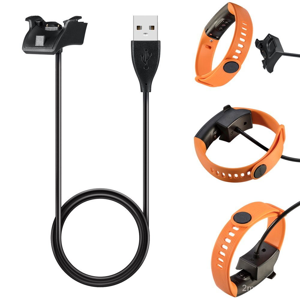 適用於華為band3 pro/手環band 3e充電器一體款/honor band4充電線 band 2 pr WwsS