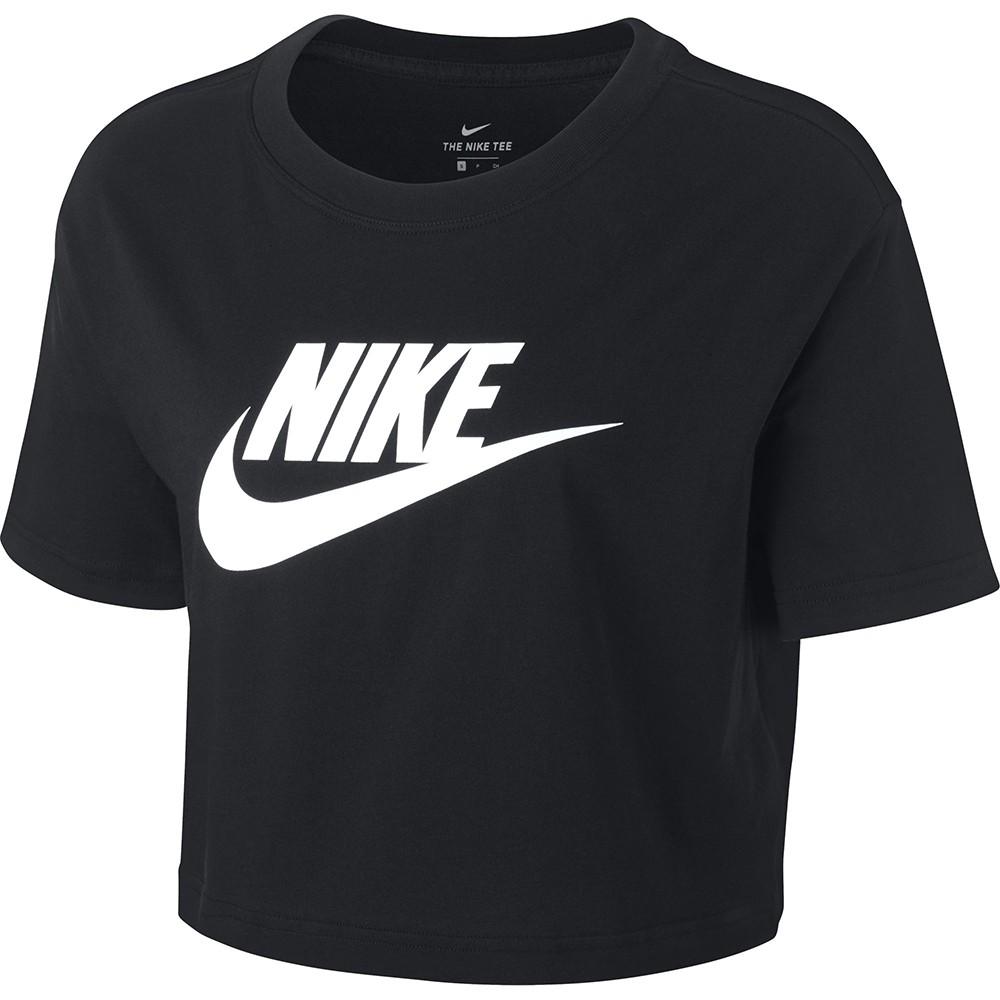 NIKE 女 短袖 上衣 BV6176010 (202105) 短版 LOGO