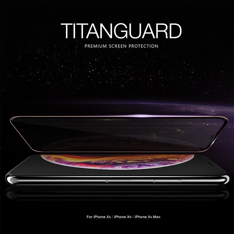 iPhone11 iPhone XR TITANGUARD 3D 0.26mm鋼化玻璃保護貼-黑 含運