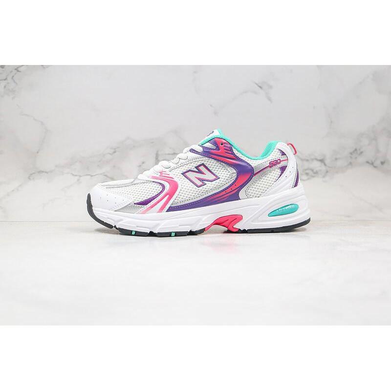 NewBalance530 紐巴倫530 NB530白銀 白色 黑白 紫白 白藍 復古 慢跑鞋 老爹鞋