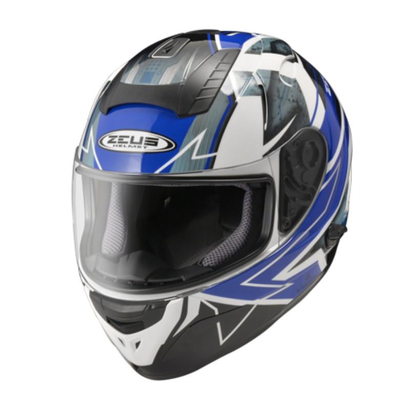 ZEUS 瑞獅 ZS-806F ZS806F II68 負壓排氣鴨尾 雙鏡片 全罩式 安全帽 雙D扣