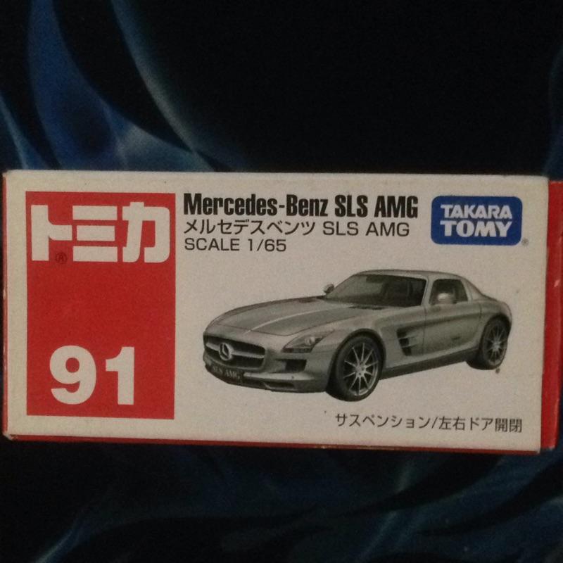 Tomica 91號Benz SLS