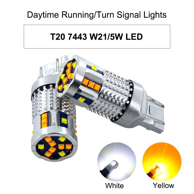 單個 led 雙色燈 1157 3157 7443 T20 雙芯 方向燈 日行燈 小燈 K8 K9 Tierra 可用