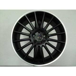 類AMG 18吋5-112黑車邊鋁圈 價格標示88非實際售價 洽詢優惠中