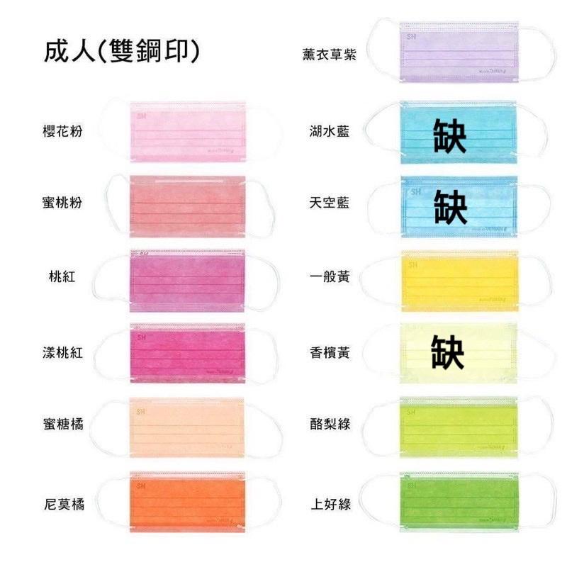 現貨❤️ 台灣製 上好生醫 成人醫療口罩 素色50入