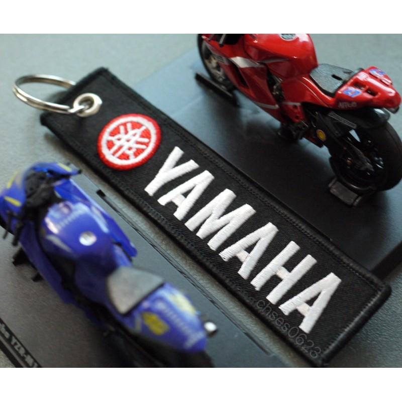 Yamaha 【高品質電繡鑰匙圈】台灣現貨🇹🇼◈沐熙重機配件◈R15 R3 FZS150 R6 XMAX MT15