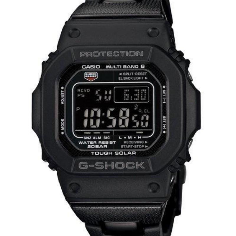 {現貨附保卡發票} 全新正品台灣卡西歐公司貨 G-SHOCK運動電波錶 GW-M5610BC-1DR複合式錶帶 ㄧ年保固