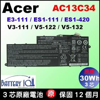 Acer AC13C34 原廠電池 宏碁 E-11 E3-111 E3-112 ES1-111 ES1-420 充電器 臺北市