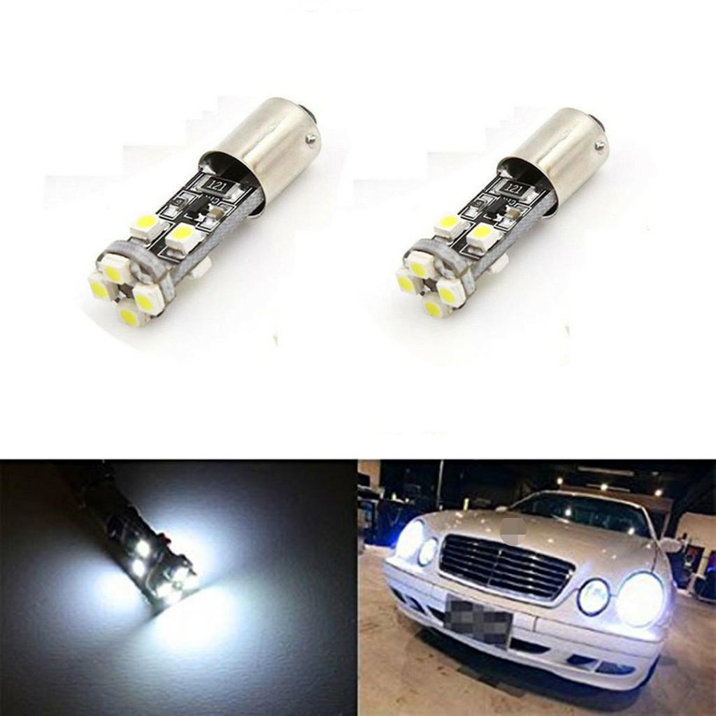2PCS BA9S h6w 6000k無錯LED停車燈燈泡用於Mercedes W210 E55 AMG 1998-20