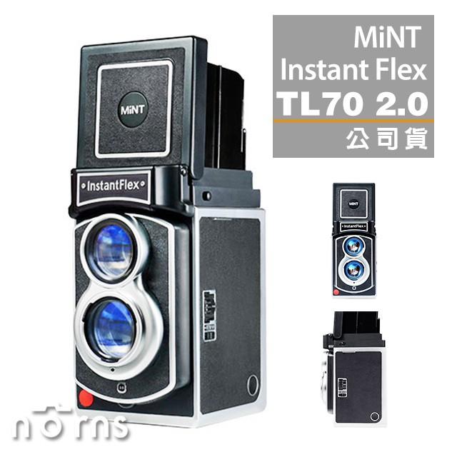 【MiNT InstantFlex TL70 2.0 拍立得相機】Norns instax 雙鏡頭第二代公司貨 保固一年