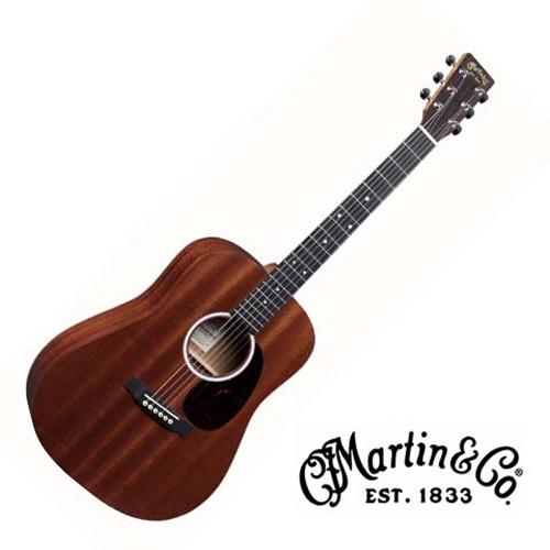 Martin DJR10E 全單板旅行吉他 38吋 沙比利木 小吉他 民謠吉他【他,在旅行】