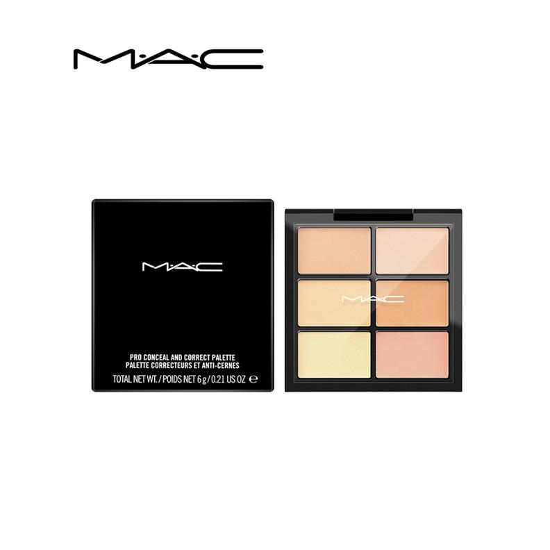 (免税店)MAC魅可六色遮瑕盤遮瑕膏 Light