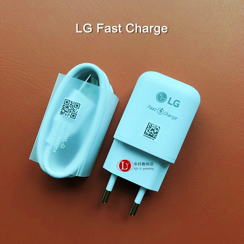 ❉LG G6 G7 G8原裝充電器V30 V40 V50快充充電頭TYPE-C數據線V20 G5