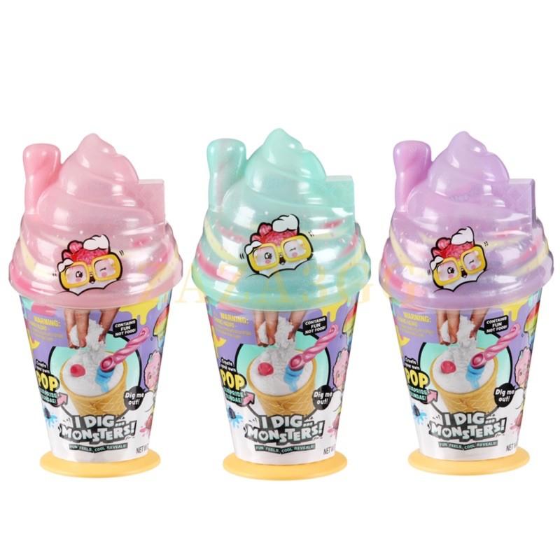 I Dig Monsters全新現貨 冰棒怪二代 冰淇淋 甜筒 怪物怪獸 公仔 美國盲盒 舒壓解壓 療癒 香味史萊姆一入