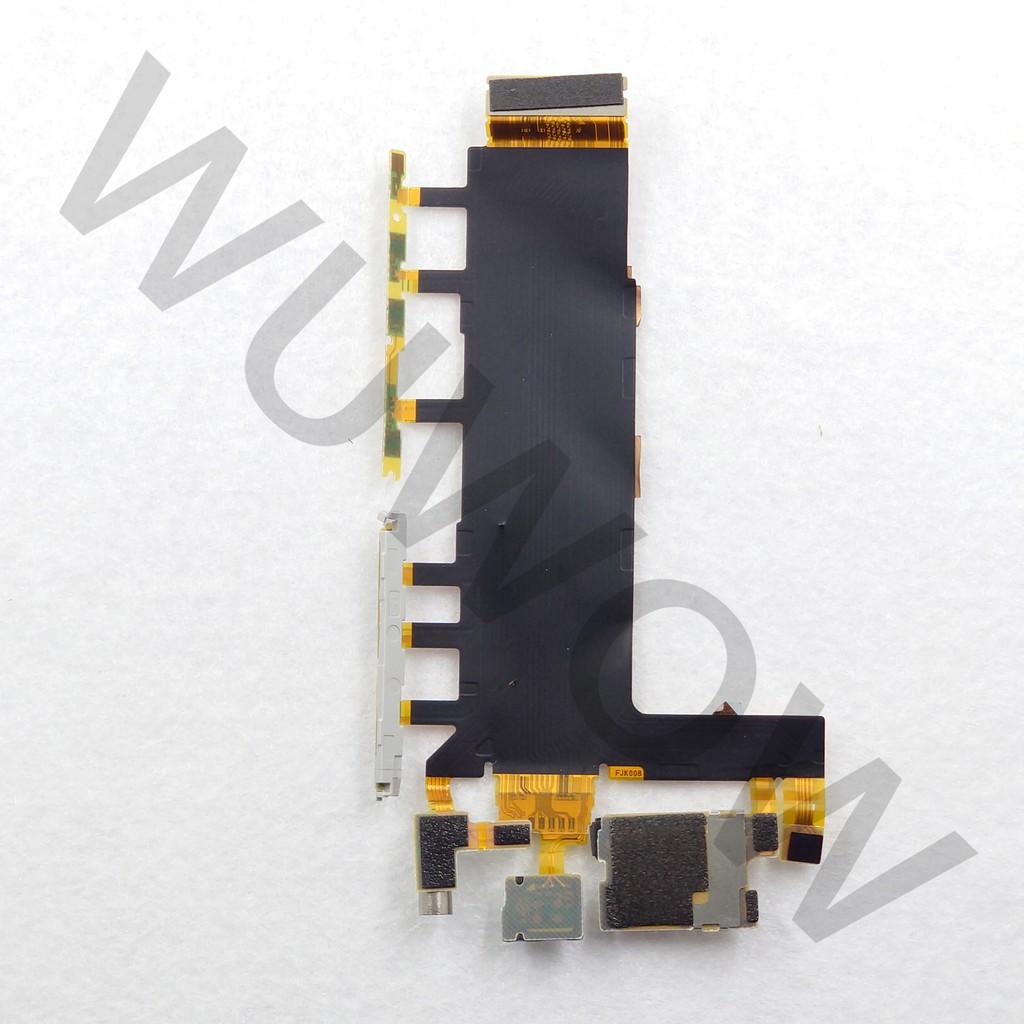 [WUWOW 二手販售] 拆機品 開機音量排線 可用於 Sony Xperia Z3 (D6653、D6603)
