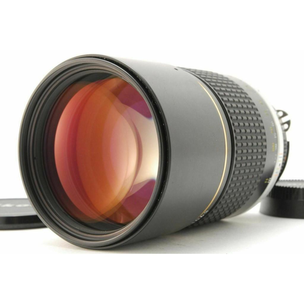 日本直送 胶卷 相机 Used NIKON Ai-s 180mm F2.8 ED MF LENS #0429