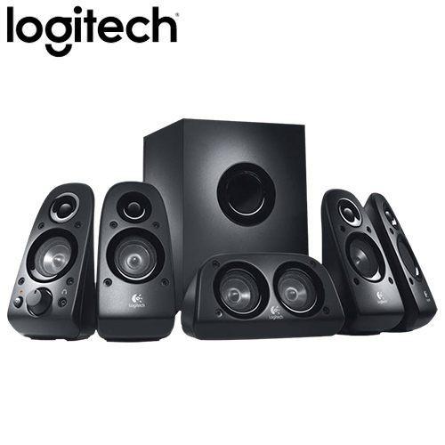 全新 羅技 Z506 環繞音箱 /5.1聲道 /多輸入端子/座地反射式重低音音箱