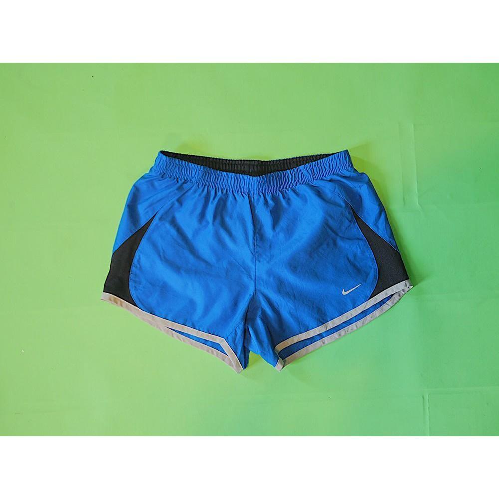 Nike 專櫃正品 復古藍 運動短褲 古著VINTAGE