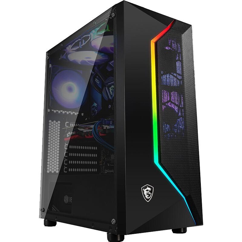 京天華盛 AMD主機 銳龍r5 3500X/3600/GTX1050ti升1650 吃雞電腦主機 DIY兼容機
