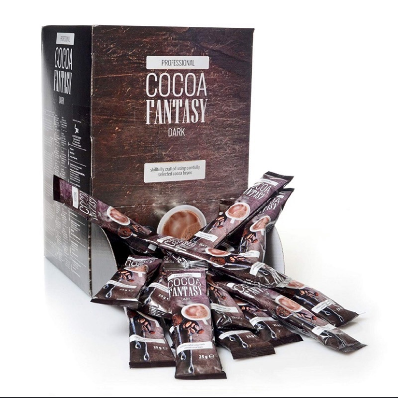 德國 Cocoa Fantasy 27%香濃可可粉 100包x25g