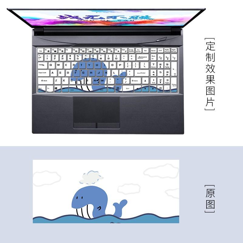 現貨  快速出貨☃℗適用雷神911MT黑武士游戲本電腦RTX3060/3050 i5/i7鍵盤保護膜罩