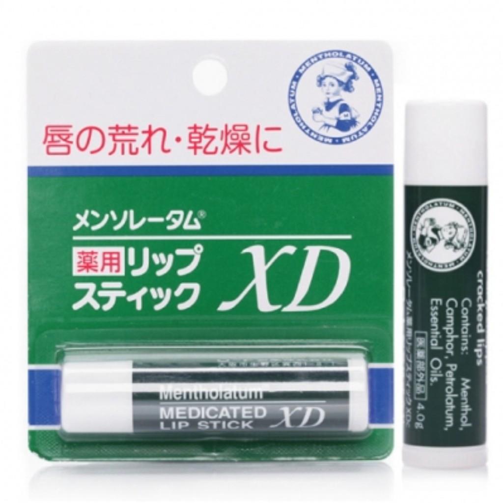 曼秀雷敦 保濕護唇膏XD 4g【4987241105052】【現貨】