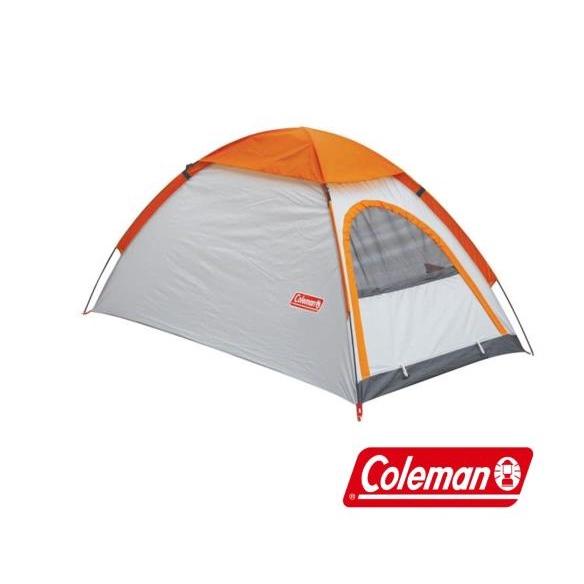 【美國 Coleman】GO! 2P TENT 日光浴2人帳篷/橘白(現貨有發票)
