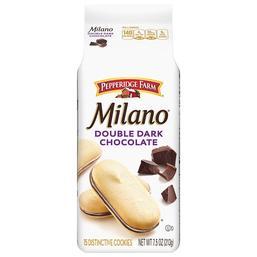 Pepperidge Farm 琣伯莉 雙層巧克力米蘭餅乾213g/包