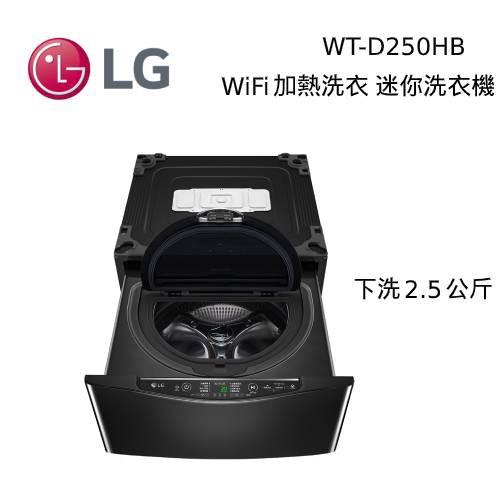 LG 樂金 WT-D250HB 加熱洗衣 洗2.5公斤 WiFi MiniWash 迷你洗衣機【私訊現折】
