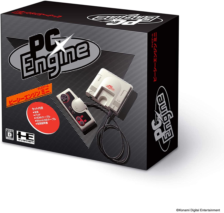 1-16      科樂美KONAMI PC Engine CoreGrafx PCE mini迷你50遊戲主機