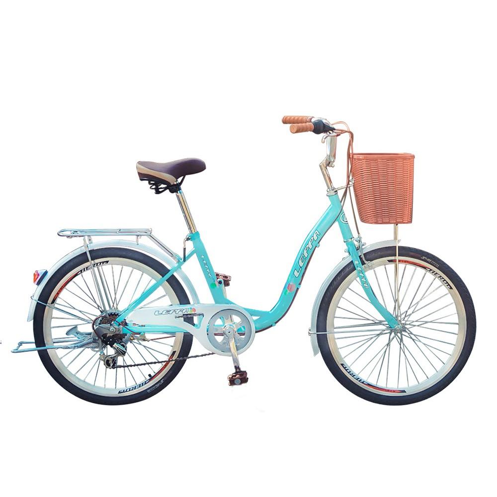 BIKEONE L7 246 24吋6速SHIMANO學生變速淑女車 低跨點設計時尚文藝女力通勤新寵兒自行車