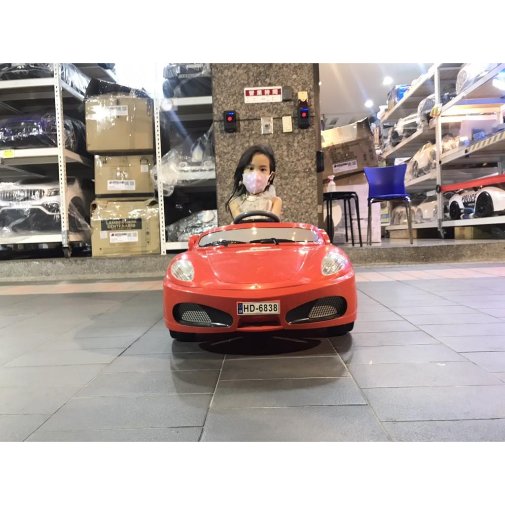 二手類法拉利  紅  中古車 兒童電動車 兒童超跑 兒童騎乘電動車 兒童遙控車 兒童童車