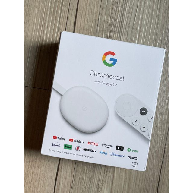 Chromecast with Google TV 第四代