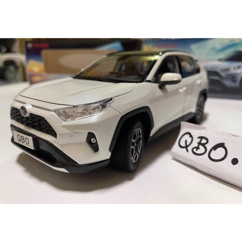 【現貨全可開超低價】1:18 TOYOTA RAV4 五代 休旅車 SUV CUV rav4 模型 模型車 RAV4模型
