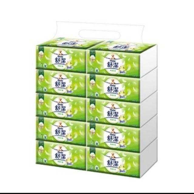 饅頭小舖😀舒潔棉柔抽取式衛生紙(110抽72包)