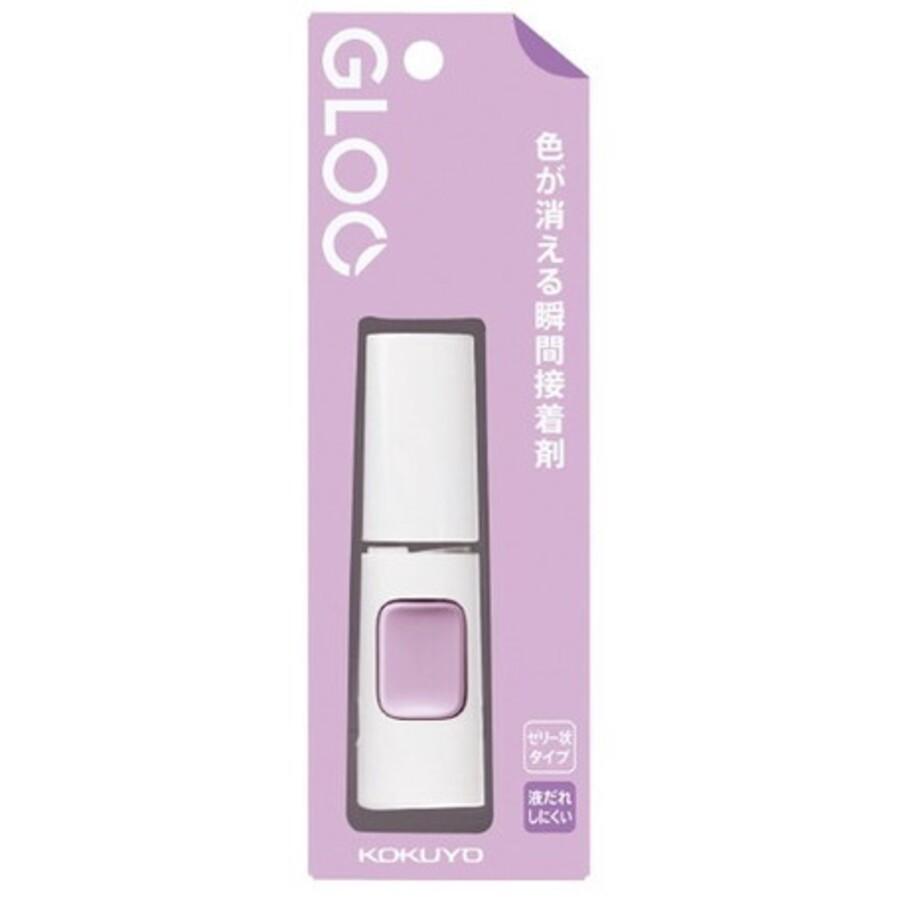 日本 國譽 KOKUYO Nendo 聯名款 GLOO 黏貼系列 消色果凍膠狀 瞬間膠 液態膠 果凍膠 膠水 -富士通販
